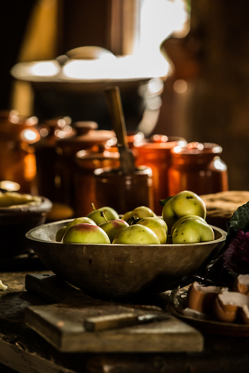Fall Flavors display at Greenfield Village.  Photographed by KMS Photography