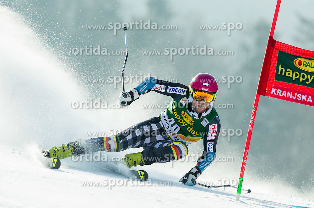 TORSTI Samu of Finland competes in 1st Run during Men Giant Slalom race of FIS Alpine Ski World Cup 54th Vitranc Cup 2015, on March 14, 2015 in Kranjska Gora, Slovenia. Photo by Vid Ponikvar / Sportida