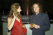 ELIZABETH SHEINKMAN AND JAMIE BYNG, Women for Women International UK Gala Evening. V. & A. 29 April 2008.  *** Local Caption *** -DO NOT ARCHIVE-© Copyright Photograph by Dafydd Jones. 248 Clapham Rd. London SW9 0PZ. Tel 0207 820 0771. www.dafjones.com.