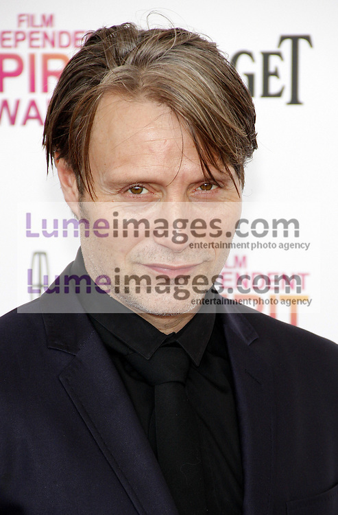 Mads Mikkelsen at the 2013 Film Independent Spirit Awards held at the Santa Monica Beach in Los Angeles, United States, 230213.