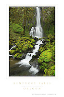 Kentucky Falls Oregon Poster