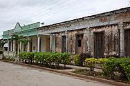 Buildings in San Andres, Holguin, Cuba.