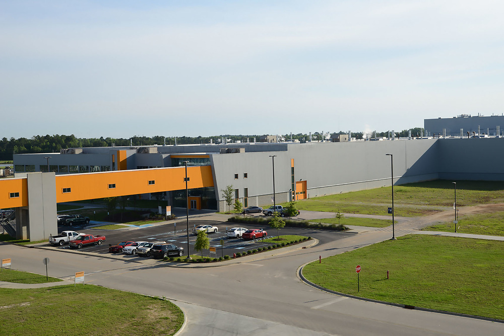 Continental Tire of the Americas Manufacturing Plant in Sumter South Carolina.