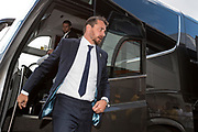 Fulham manager Slavisa Jokanovic arrives at the Pirelli Stadium for the EFL Sky Bet Championship match between Burton Albion and Fulham at the Pirelli Stadium, Burton upon Trent, England on 16 September 2017. Photo by Richard Holmes.