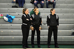 20 February 2016:   during an NCAA women's basketball game between the Elmhurst Bluejays and the Illinois Wesleyan Titans in Shirk Center, Bloomington IL