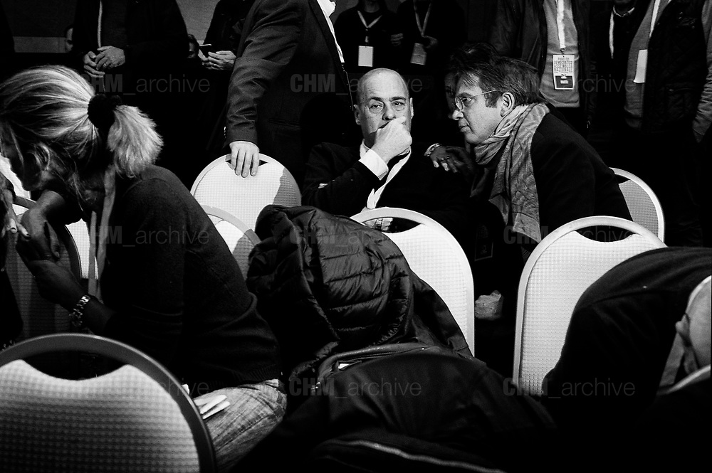 Nicola Zingaretti. Democratic party National Assembly on Mayv11 November, 2018, in Rome. Christian Mantuano / OneShot