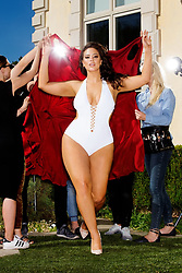 "Brooke Shields looks incredible at 52 as she parades her fit figure in a bikini for a new body-positive swimsuit campaign. The Suddenly Susan star shared the limelight with an array of other women of differing sizes, including stunning plus-size model Ashley Graham, 30, and reality star Angela Simmons, 30, in a campaign for swimsuit brand Swimsuits For All. Brooke disrobes, a white dressing gown slinking over her shoulders, to reveal her bright red bikini underneath while in another frame the actress puts her pedal to the metal while posing in her two-piece while resting up against a convertible car. The mother-of-two shared with people.com that she finally feels good about her body — and confident in a bikini. ""Growing up under such scrutiny led me to feel insecure about my looks,"" shared Brook, who stars in the Swimsuits For All ""Power Suit"" campaign. ""Feeling disconnected from my own body, it took me years to separate the opinions of others from my own. ""At 52 years old, I finally feel comfortable and proud of all the hard work I've put into my body,"" adding that she feels ""confident being in my own skin"". Also appearing in the campaign is nurse practitioner Katie Duke and pro swimmer Pat Gallant Charette, who last year became the oldest woman to swim across the English Channel aged 66. 22 May 2018 Pictured: Brooke Shields stars in a the ""Power Suit"" campaign for swimsuit brand Swimsuits For All; (L-R) nurse practitioner Katie Duke, model Ashley Graham, actress Brook Shields, pro swimmer Pat Gallant Charette and reality TV star Angela Simmons. Photo credit: Swimsuits For All/ MEGA TheMegaAgency.com +1 888 505 6342"