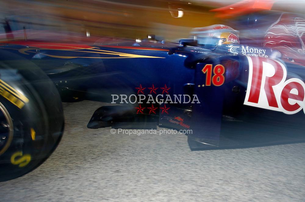 Motorsports / Formula 1: World Championship 2011, Test Valencia, Sebastian Buemi ( SUI, Torro rosso )