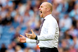Burnley manager Sean Dyche cuts a frustrated figure - Mandatory by-line: Robbie Stephenson/JMP - 02/09/2018 - FOOTBALL - Turf Moor - Burnley, England - Burnley v Manchester United - Premier League