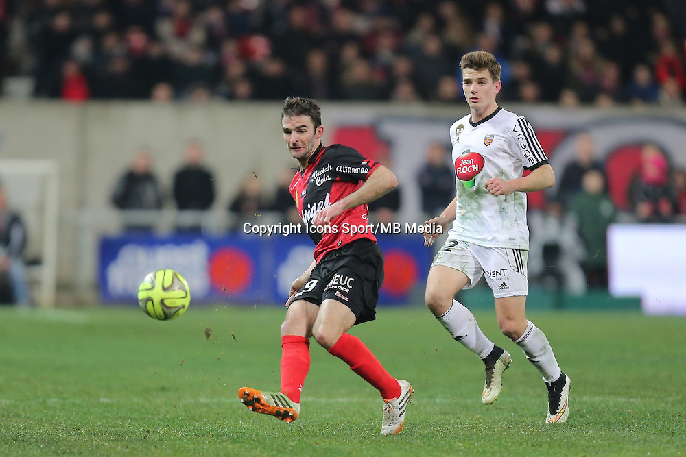 Christophe KERBRAT  - 24.01.2015 - Guingamp / Lorient - 22eme journee de Ligue1<br />