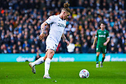 Leeds United midfielder Kalvin Phillips (23) passes the ball during the EFL Sky Bet Championship match between Leeds United and Sheffield Wednesday at Elland Road, Leeds, England on 11 January 2020.