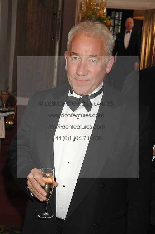 Actor SIMON CALLOW at the Galaxy British Book Awards 2007 - The Nibbies held at the Grosvenor house Hotel, Park Lane, London on 28th March 2007.<br />