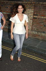 JESSICA DE ROTHSCHILD at Sir David & Lady Carina Frost's annual summer party held in Carlyle Square, Chelsea, London on 5th July 2006.<br />