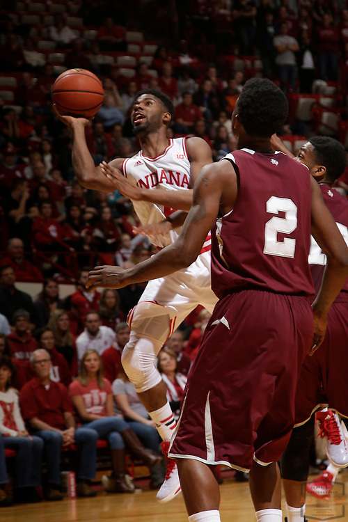 Indiana guard Robert Johnson (4) as Texas Southern University played Indiana in an NCCA college basketball game, Monday, Nov. 17, 2014 in Bloomington, Ind.. (AJ Mast /Photo)