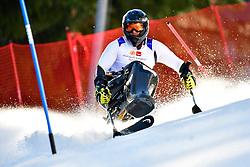 SIKORSKI Igor, LW11, POL, Slalom at the WPAS_2019 Alpine Skiing World Cup Finals, Morzine, France