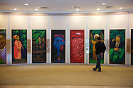 The Ketagalan Cultural Center in Beitou has nice displays of many of Taiwan's aboriginal tribes' artwork.