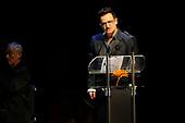 Bono en Chris Martin tijdens Prins Bernhard Cultuurfondsprijs