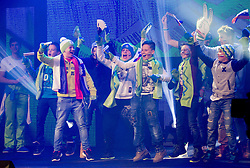 Young fans during presentation of Team Slovenia for Sochi 2014 Winter Olympic Games on January 22, 2014 in Grand Hotel Union, Ljubljana, Slovenia. Photo by Vid Ponikvar / Sportida