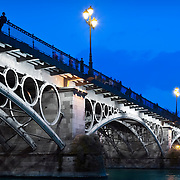 Triana's bridge in Seville