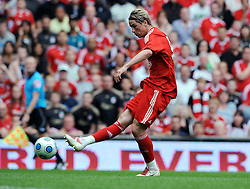 Fernando Torres of Liverpool in action during the Pre-Season friendly between Liverpool and Atletico Madrid (1-2), 8th August 2009.
