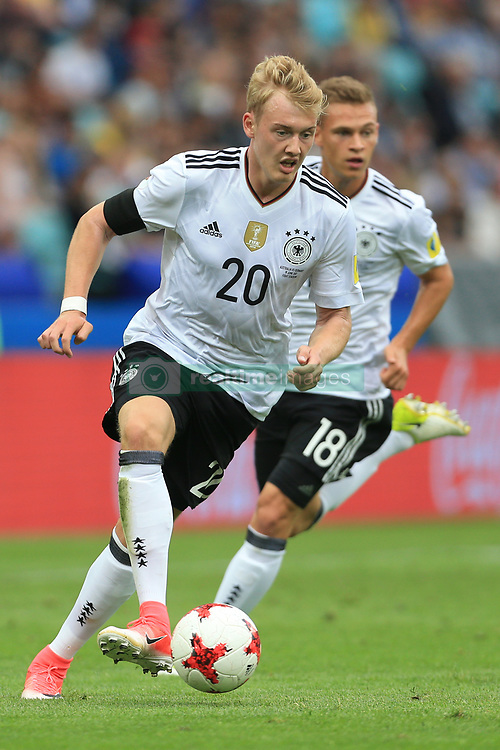 19th June 2017 - FIFA Confederations Cup (Group B) - Australia v Germany - Julian Brandt of Germany (L) and teammate Joshua Kimmich - Photo: Simon Stacpoole / Offside.
