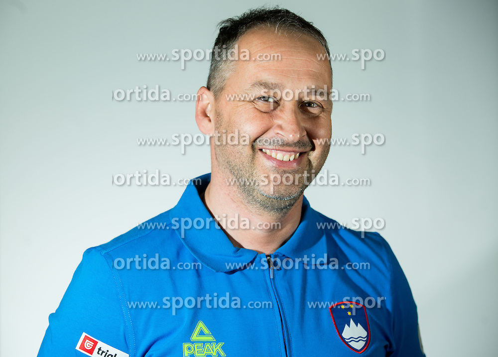 Coach Ales Kosmac during Media day of Slovenian Paralympic Shooting team for Rio 2016 on June 4, 2016 in Ljubljana, Slovenia.Photo by Vid Ponikvar / Sportida