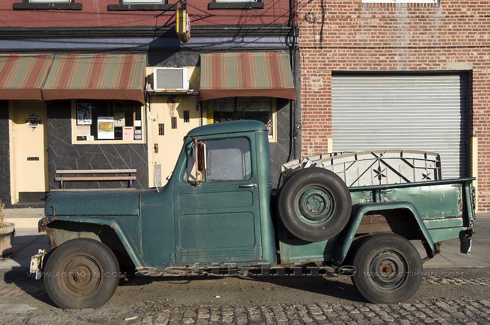 Vintage car - Willy Suburban 1953.