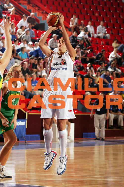 DESCRIZIONE : Ankara Eurobasket Women 2005 Spagna-Lituania<br /> GIOCATORE : Valdemoro<br /> SQUADRA : Spagna Spain<br /> EVENTO : Eurobasket Women 2005 Campionati Europei Donne 2005<br /> GARA : Spagna Lituania Spain Lithuania<br /> DATA : 11/09/2005<br /> CATEGORIA :<br /> SPORT : Pallacanestro<br /> AUTORE : Ciamillo&amp;Castoria/Fiba Europe