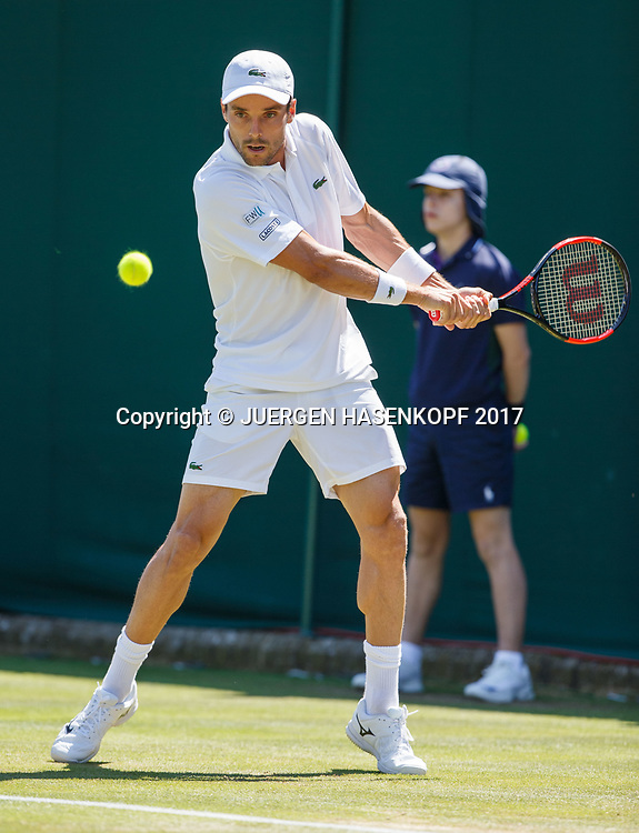 ROBERTO BAUTISTA AGUT (ESP)<br /> <br /> Tennis - Wimbledon 2016 - Grand Slam ITF / ATP / WTA -  AELTC - London -  - Great Britain  - 5 July 2017.