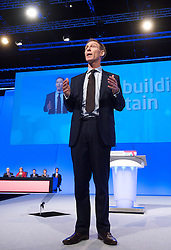 Jim Murphy MP, Shadow Defence Secretary during the Labour Party Conference in Manchester, Monday October 1 2012, Photo by Elliott Franks / i-Images.
