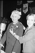Kit Ahern (right)<br /> <br /> 2nd April 1964