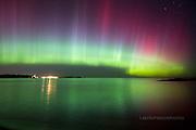 Aurora, Northern LIghts, technicolor curtain, Upper Harbor, Marquette MI