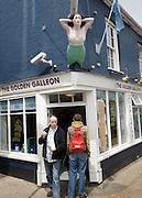 Golden Galleon chip shop, Aldeburgh, Suffolk, England
