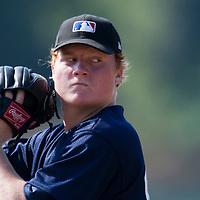 Baseball - MLB European Academy - Tirrenia (Italy) - 22/08/2009 - Marius Jellonneck (Germany)