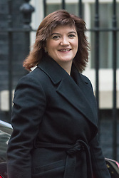 Downing Street, London, February 2nd 2016. Secretary of State for Education and Minister for Women and Equalities  Nicky Morgan arrives at No 10 prior to attending the weekly Cabinet meeting. ///FOR LICENCING CONTACT: paul@pauldaveycreative.co.uk TEL:+44 (0) 7966 016 296 or +44 (0) 20 8969 6875. ©2015 Paul R Davey. All rights reserved.