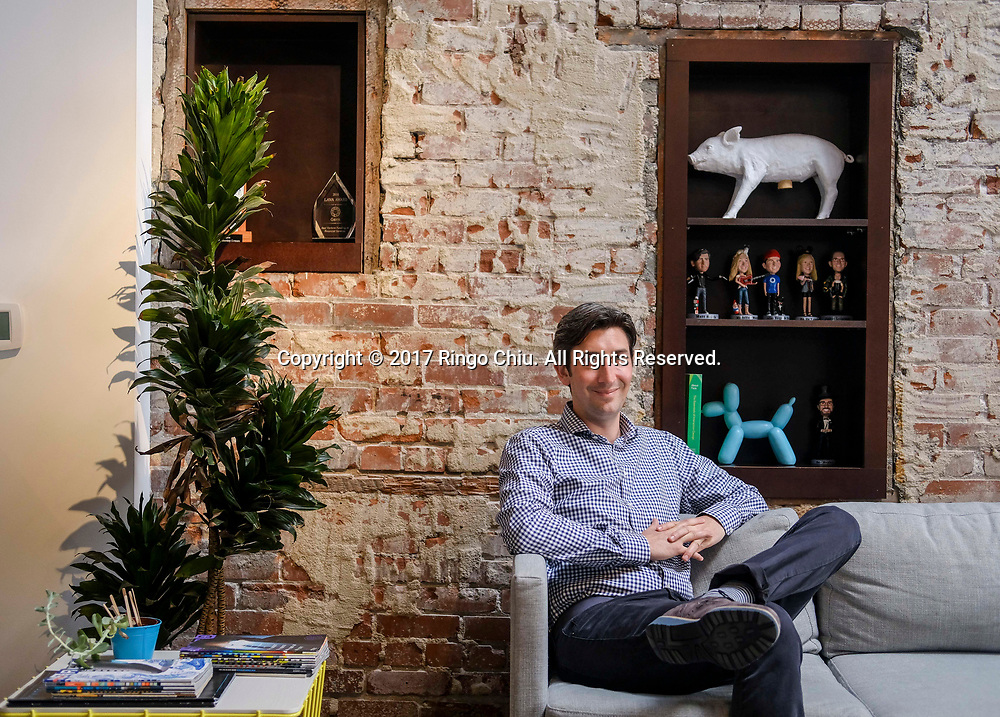 Micah Winkelspecht, CEO of Gem.(Photo by Ringo Chiu)<br /> <br /> Usage Notes: This content is intended for editorial use only. For other uses, additional clearances may be required.