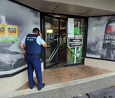 Tauranga-Attempted robbery of Greerton Liquor Store