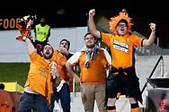 SYDNEY, AUSTRALIA - AUGUST 07: Brisbane Roar fans during the FFA Cup round of 32 football match between Sydney FC and Brisbane Roar FC on August 07, 2019 at Leichhardt Oval in Sydney, Australia. (Photo by Speed Media/Icon Sportswire)