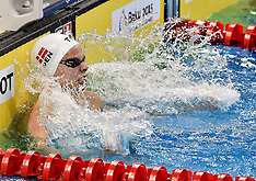20150625 Baku 2015 European Games - Svømning - 50 m bryst Tobias Bjerg bronze