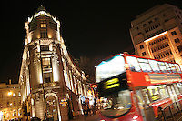 buses pass the aldwych hotel in london england