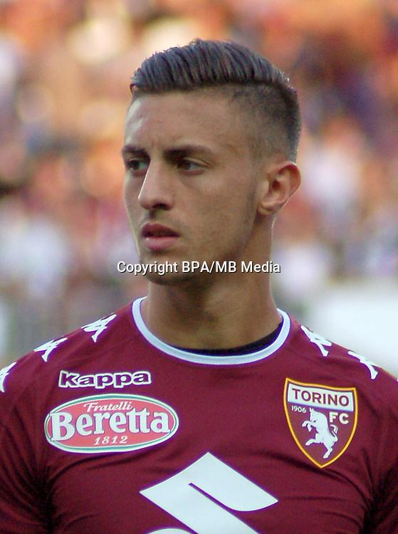 Italian League Serie A -2016-2017 / <br /> ( Torino FC  ) - <br /> Antonio Barreca