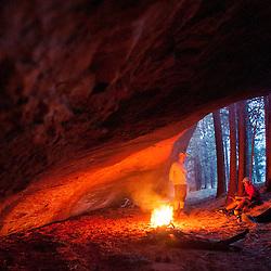 Zuni Mountain Bikepacking trip; fall 2014. Cabin 26 to the Red Rocks via McKenzie Ridge and back via Forest Road 50.