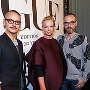 NLD/Amsterdam/20130110 - 20 Years of Viktor & Rolf - Vogue, Viktor & Rolf met Karen Swerink