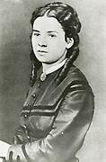 Baroness Johanna Bertha Julie 'Jenny' von Westphalen (1814-1881) wife of the philosopher Karl Marx whom she married in 1843.