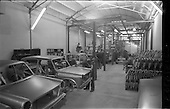 1964 - Lincoln and Nolan new car assembly shop, East Road, Dublin