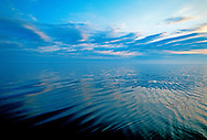 Long Island Sound, Connecticut & New York, North Fork, sunrise, water reflection