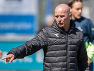 FODBOLD: Assistenttræner Brian O'Donnell (FC Helsingør) under kampen i NordicBet Ligaen mellem FC Helsingør og Næstved Boldklub den 12. maj 2019 på Helsingør Stadion. Foto: Claus Birch