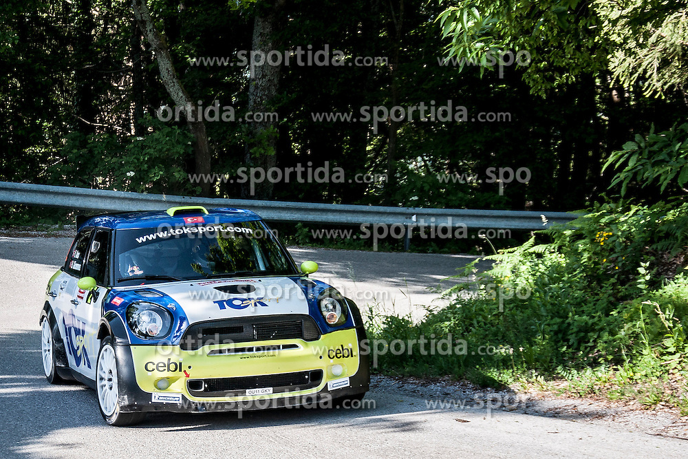 Yagiz Avci (driver/TUR) and Bahadir Gucenmez (codriver/TUR) during 37th Rally Saturnus, on May 24, 2014, in Jance,  Ljubljana, Slovenia. Photo by Joze Urbanc / Frame Photo Agency