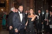 DAVID BECKHAM; VICTORIA BECKHAM, Alexander McQueen: Savage Beauty Gala, Victoria and Albert Museum, and A. 12th March 2015