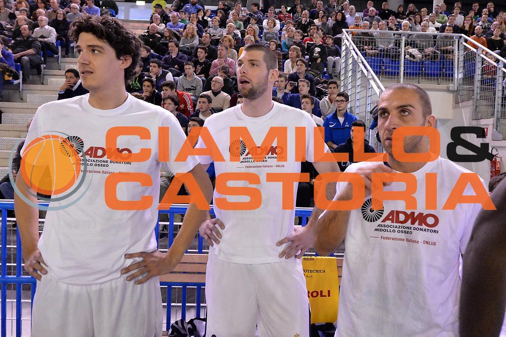 DESCRIZIONE : Vigevano All Star Game Legadue 2013 <br /> GIOCATORE : Mitchell Poletti Andrea Benevelli Francesco Guarino<br /> CATEGORIA : ritratto<br /> SQUADRA : Team Est Fondazione Cuore e Circolazione Onlus Ci Vuole Cuore Team Ovest I Love Live<br /> EVENTO : All Star Game Lega A2 2013<br /> GARA : Team Est Fondazione Cuore e Circolazione Onlus Ci Vuole Cuore Team Ovest I Love Live<br /> DATA : 02/02/2013<br /> SPORT : Pallacanestro<br /> AUTORE : Agenzia Ciamillo-Castoria/GiulioCiamillo<br /> Galleria : Lega Basket A2 2012-2013 <br /> Fotonotizia : Vigevano All Star Game Legadue 2013 <br /> Predefinita :